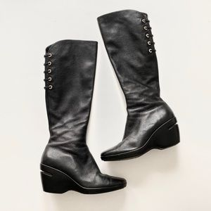 Cole Haan x Nike Air Wedge Leather Boots